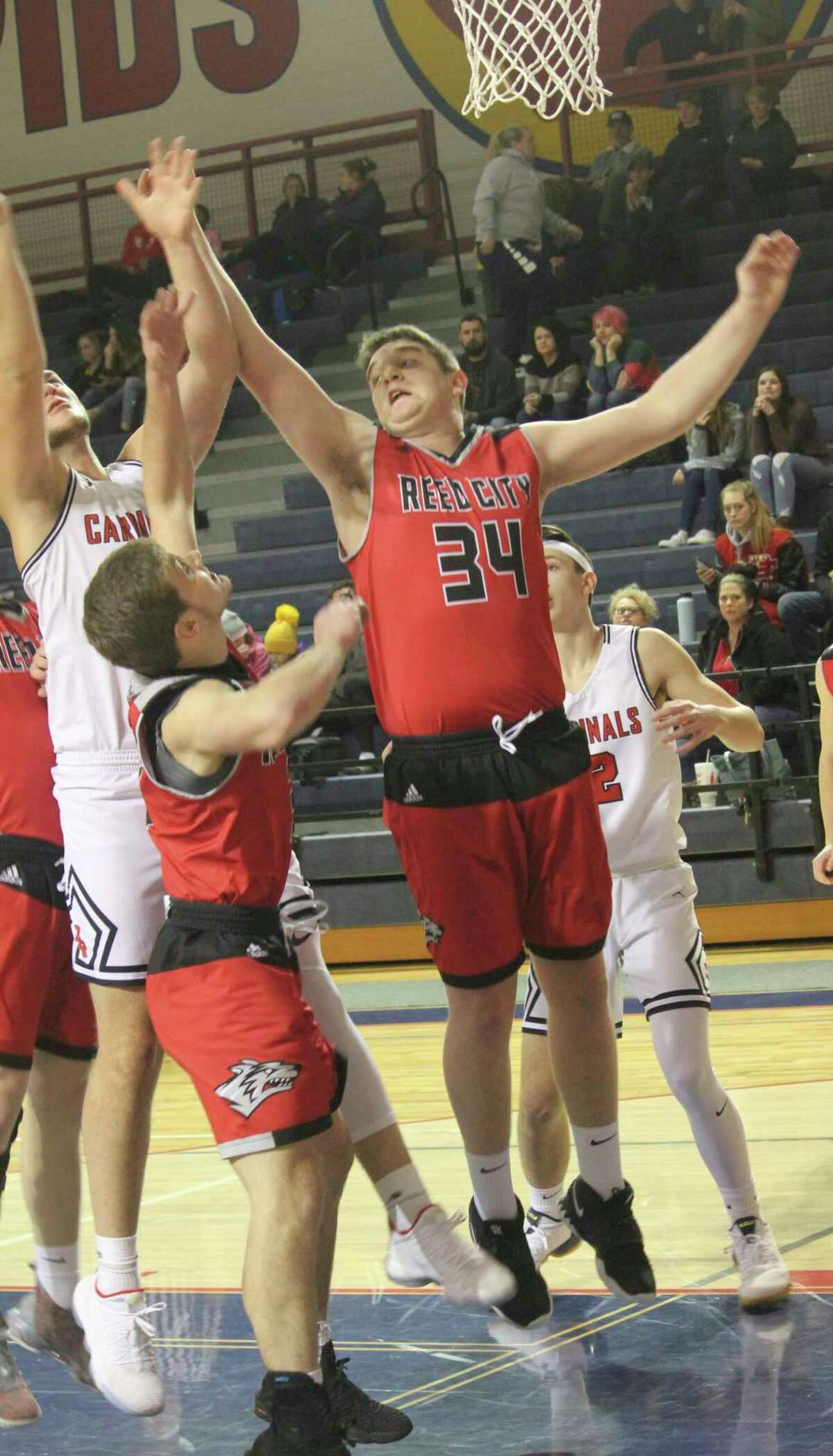Canyon Reed is among Reed City's players in the summer campprogram. (Pioneer file photo)