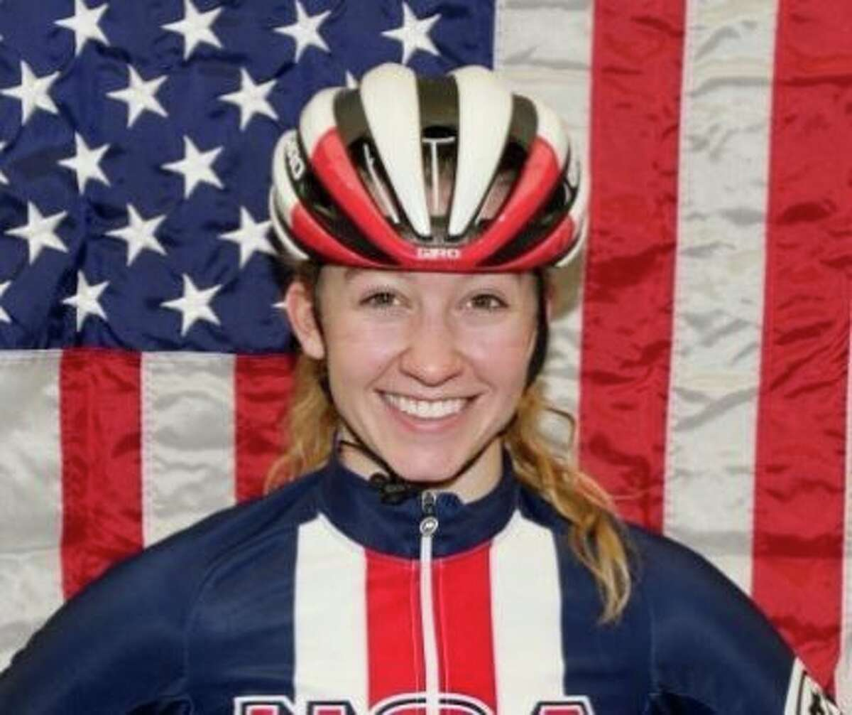 Union College graduate Emma White of Duanesburg will compete in the Tokyo Olympics. (USA Cycling)