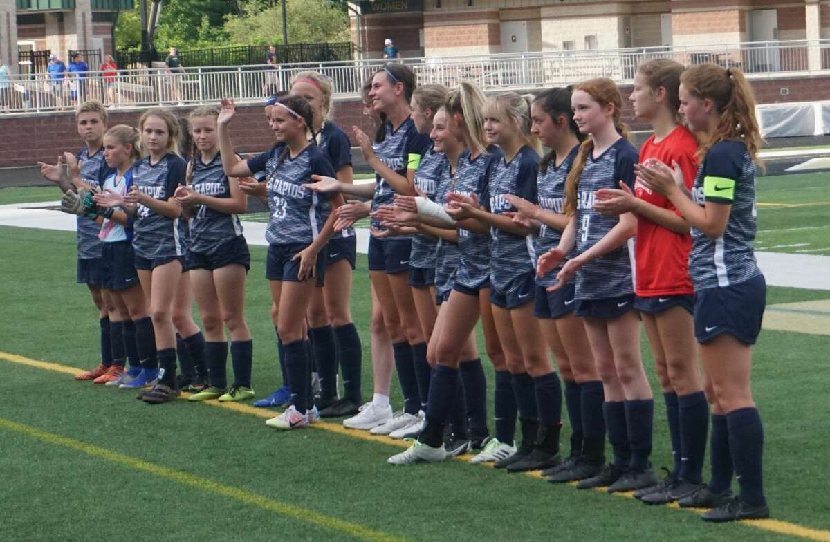 On Friday night at Comstock Park High School, the Big Rapids girls soccer team was defeated 2-1 by Boyne City in the regional championship match.