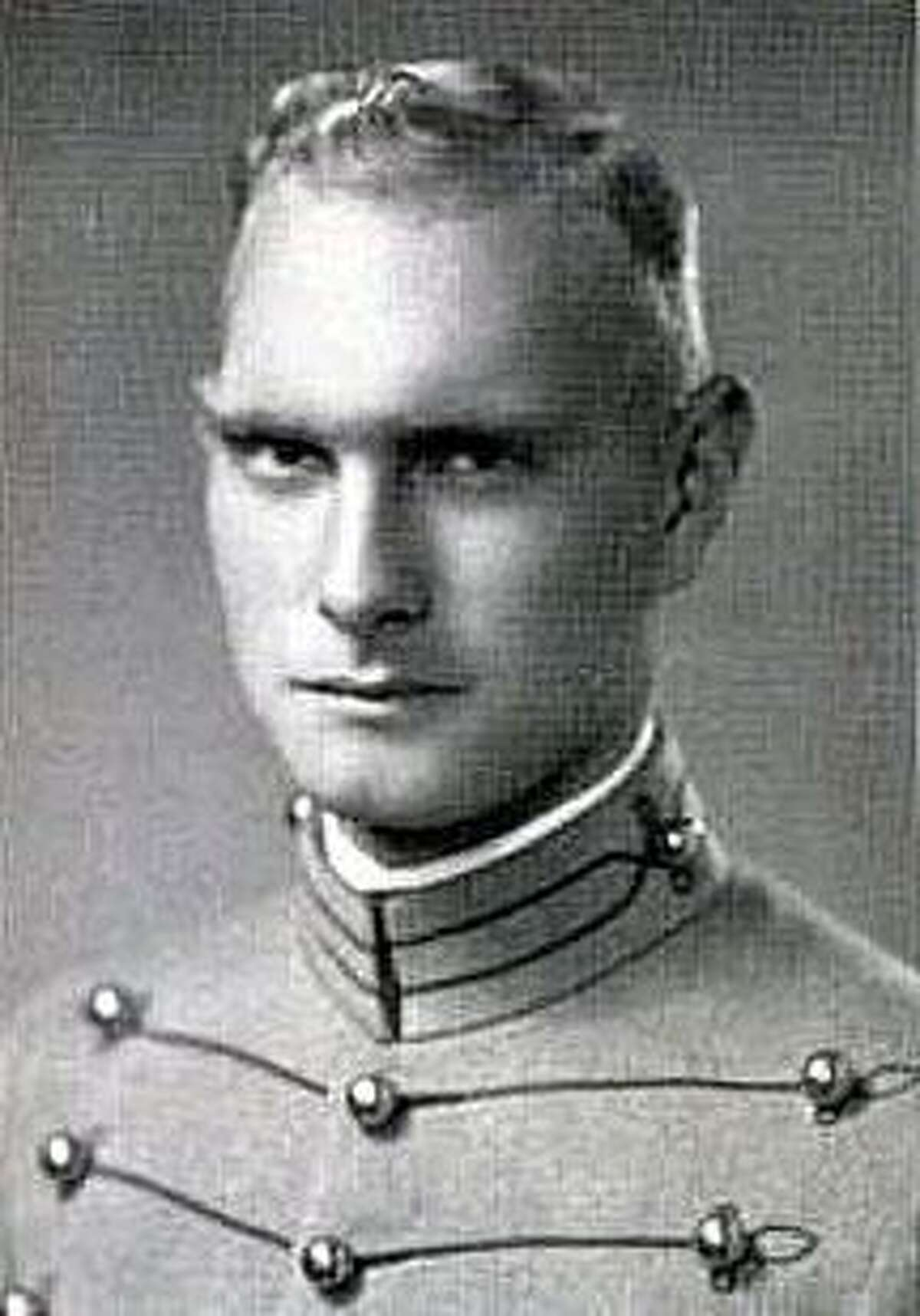 """In West Point's 1937 yearbook, """"firstie"""" (senior) Gordon Custer Leland is described as a """"good field soldier"""" who was """"beset by love's dilemmas."""""""
