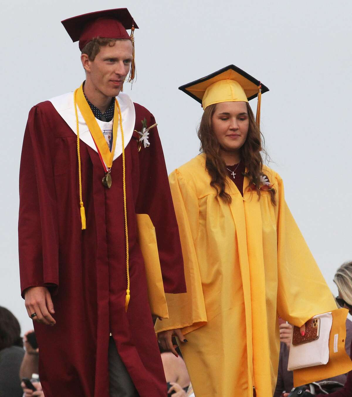 Deckerville High School held its 2021 commencement ceremony on Friday evening. The event included speeches by co-valedictorians Brett Dumaw and Olivia Terbrack and salutatorian Kaylyn Kappen.