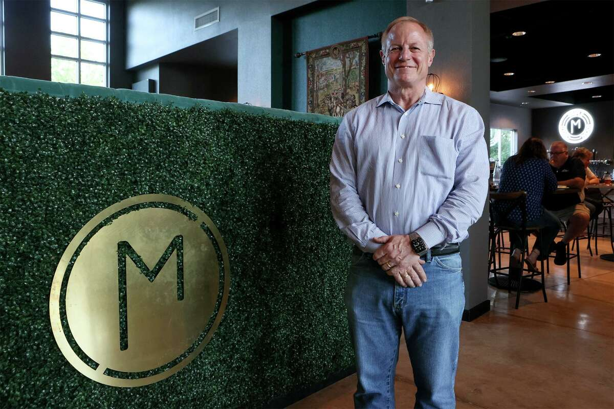 """Dave Peterson in the owner of Mako's on the Creek restaurant. The restaurant won Cibolo's 2020 Gary Kelly Community Service Award for its """"Pay It Forward"""" program during the pandemic."""