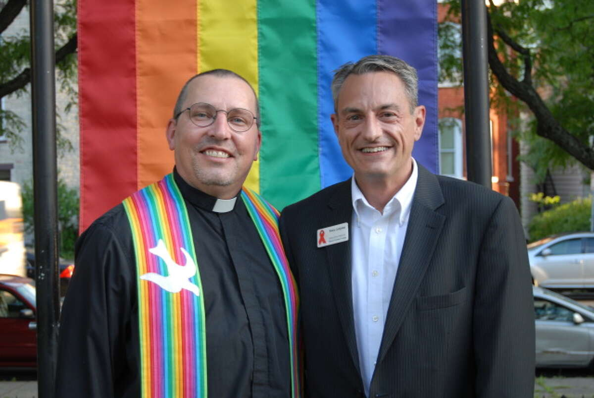 2. I've been legally married for nine years (and together for 16) to Fr. Tony Green, who is a Bishop with the Catholic Apostolic Church in North America.