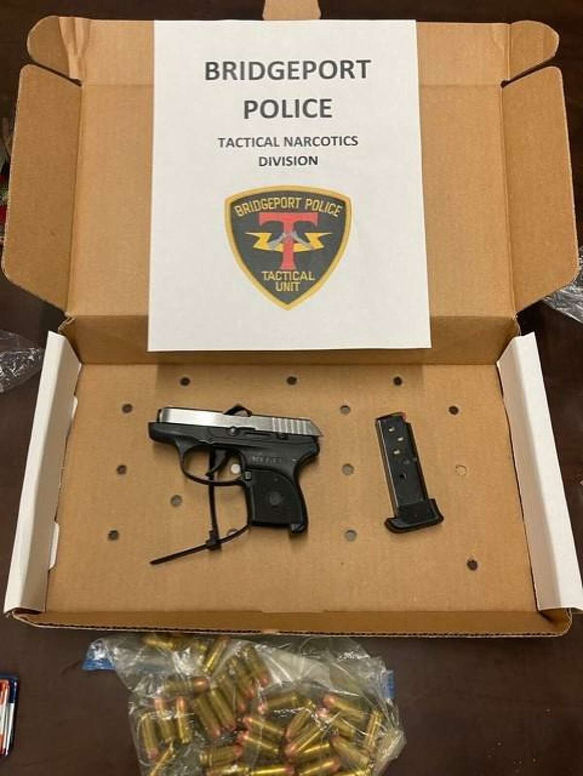 Investigators seized crack cocaine, powdered cocaine, heroin with fentanyl, ecstasy, Xanax, marijuana, digital scales, a .38 caliber handgun, several rounds of ammunition and $1,914, police said.