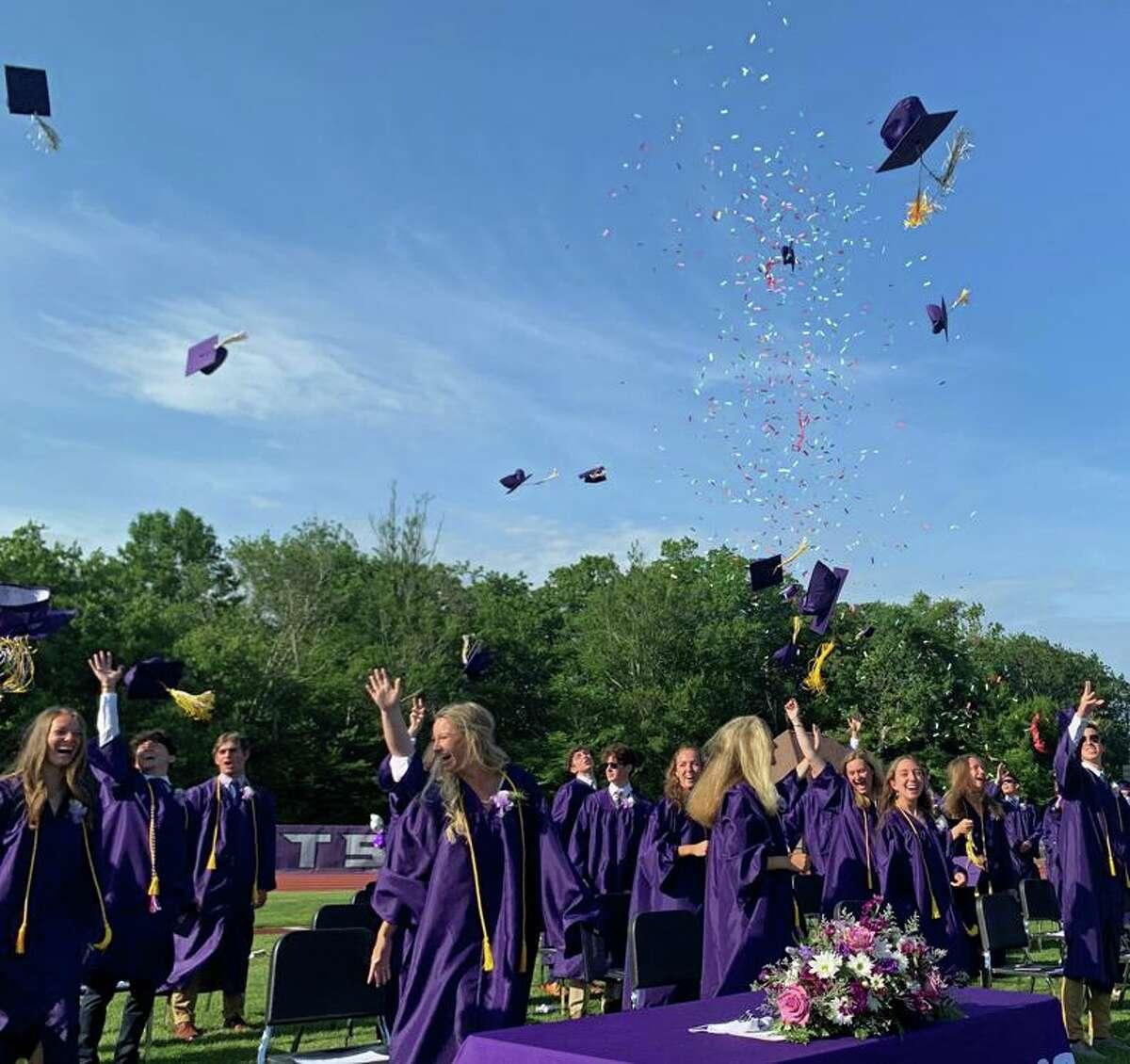 Westbrook High School graduation June 11, 2021