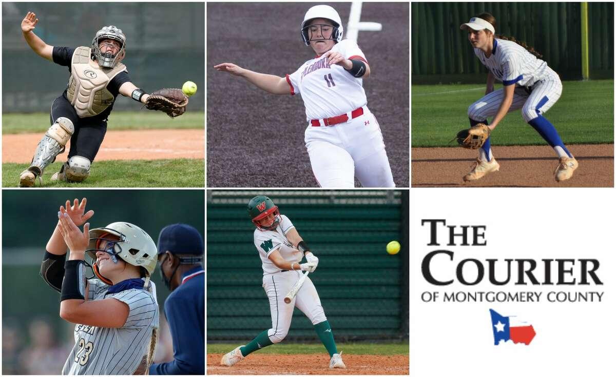 Morgan Dutton (Oak Ridge), Leah Hensarling (Splendora), Erin Plunkett (New Caney), Kalee Rochinski (Lake Creek) and Kiara Wiedenhaupt (The Woodlands) are nominees for The Courier's Defensive MVP.