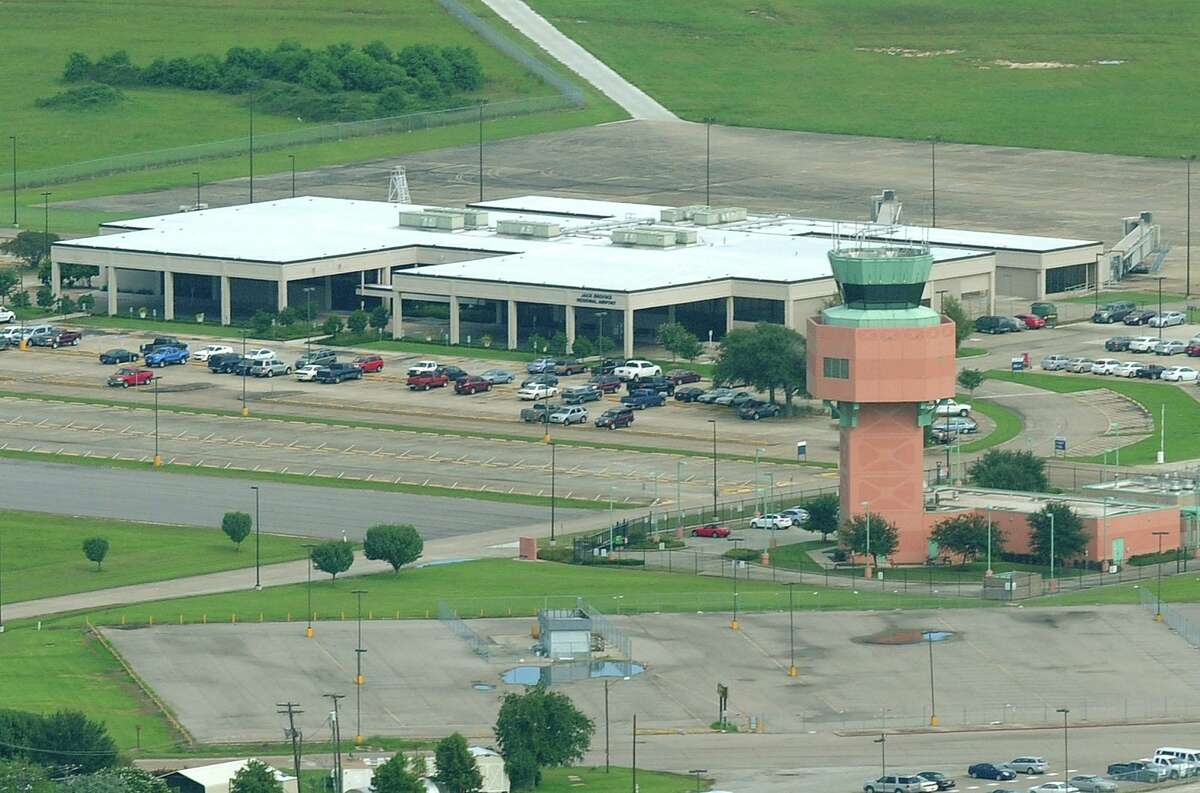 Jack Brooks Regional Airport. Photo taken July 24, 2011 Guiseppe Barranco/The Enterprise