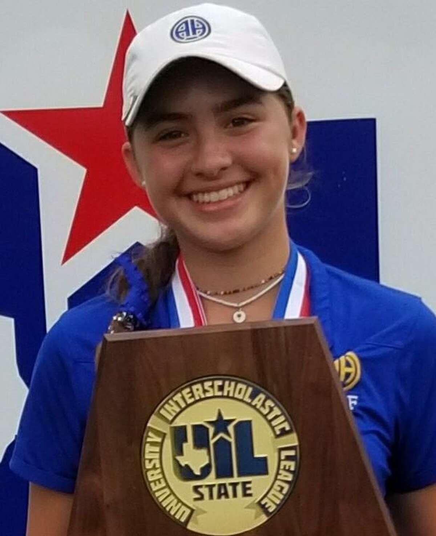 Julia Vollmer is a freshman on Alamo Heights girls golf team.
