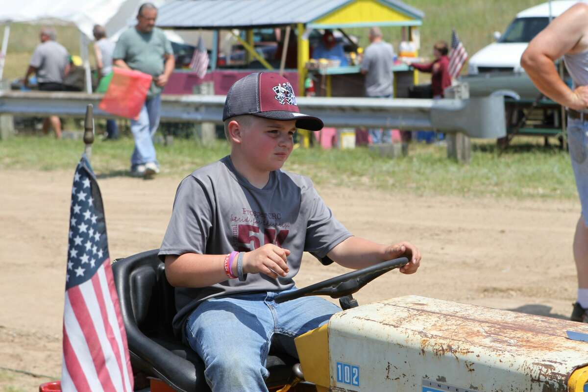 Big Rapids Host First Annual Tractor Pull