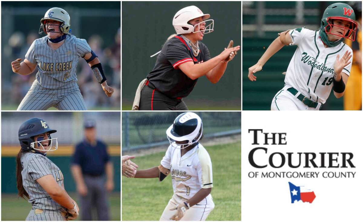 Ava Brown (Lake Creek), Morgan Dutton (Oak Ridge), Kayla Falterman (The Woodlands), Madelyn Lopez (Lake Creek) and Kennedy Powell (Conroe) are nominees for The Courier's Offensive MVP.