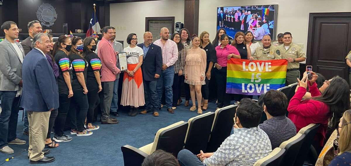 A proclamation was given by City of Laredo officials on Thursday, June 10, 2021 to recognize June 2021 as LGBTQIA+ PRIDE month.
