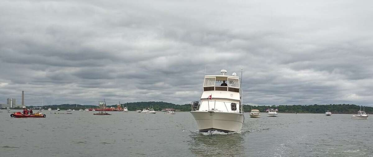 The West Haven Centennial Boat Parade, presented by the City of West Haven Centennial Celebration Committee, was held Saturday June 12,2021 along about 3 miles of publicly accessible beaches on Long Island Sound.