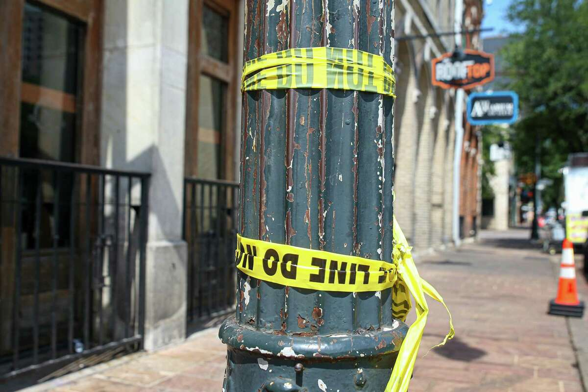 AUSTIN, Texas - The scene of a mass shooting on the downtown 6th Street entertainment district that occurred in the early morning hours of June 12, 2021 and left at least 13 injured.