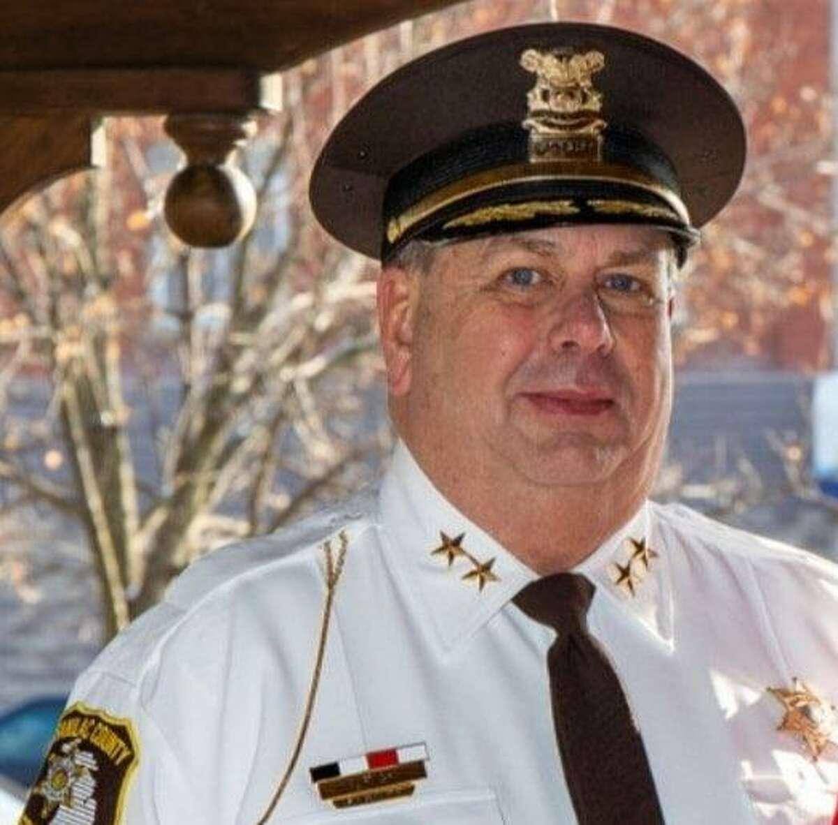 Sanilac County Sheriff Paul Rich