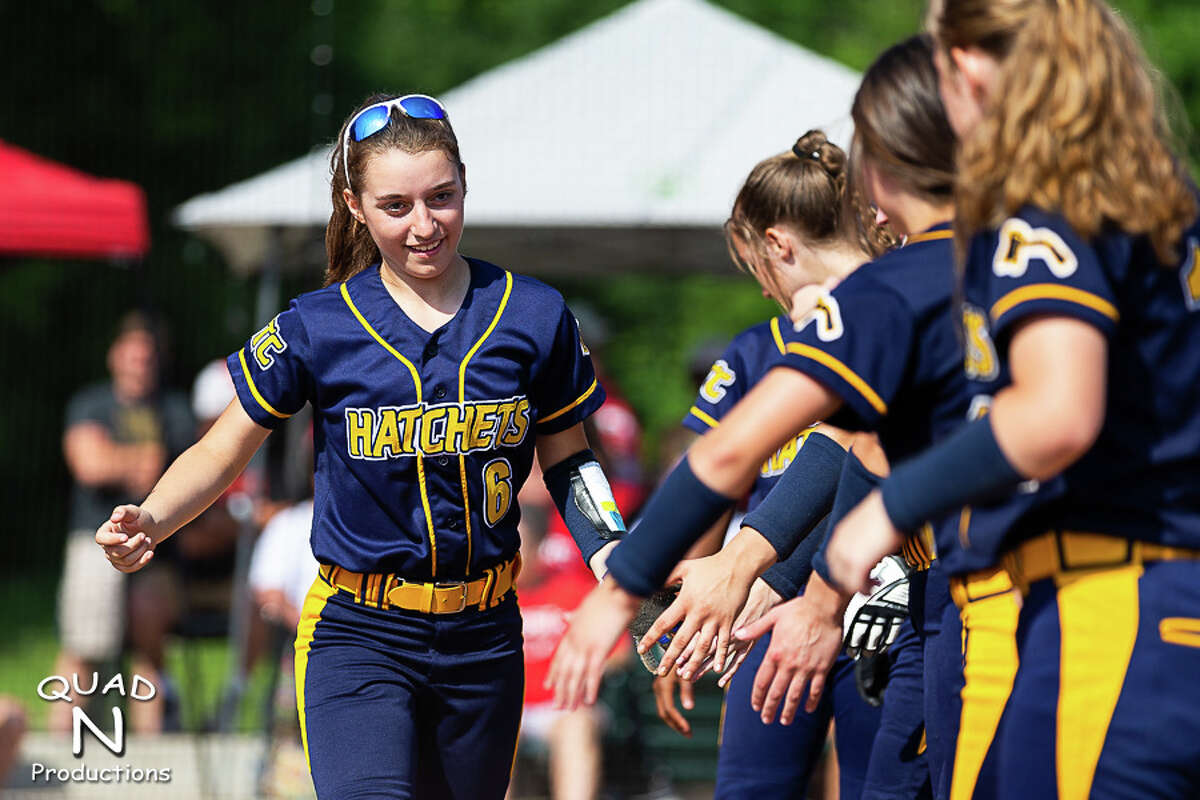 The 2021 Bad Axe varsity softball team's quest for a state championship came to a end on Saturday as the Hatchets fell to top-ranked Millington, 6-1, in the regional semifinals. Bad Axe finishes the season as district champions with a record of 25-15.