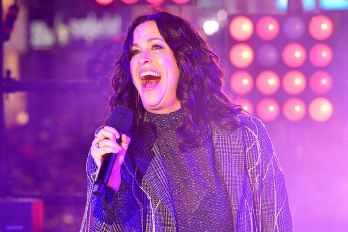 Alanis Morissette, above, with Garbage and Liz Phair, SPAC, Saratoga Springs, Sept 5