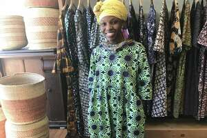 """Fahari Wambura, owner of Fahari Bazaar in Chatham, didn't see a sustained uptick in sales, and that didn't surprise her. """"You cannot change hundreds of years of history or a mindset within a year,"""" she said."""