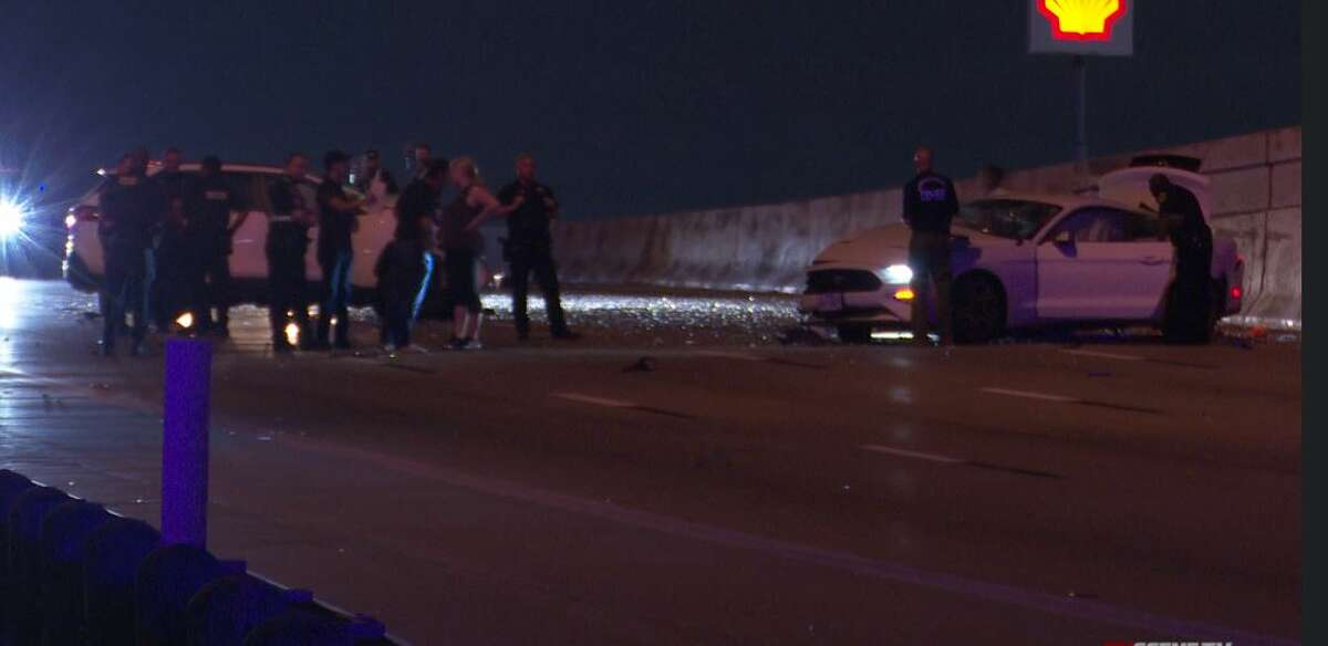 Police say the drivers of all three vehicles were likely intoxicated.