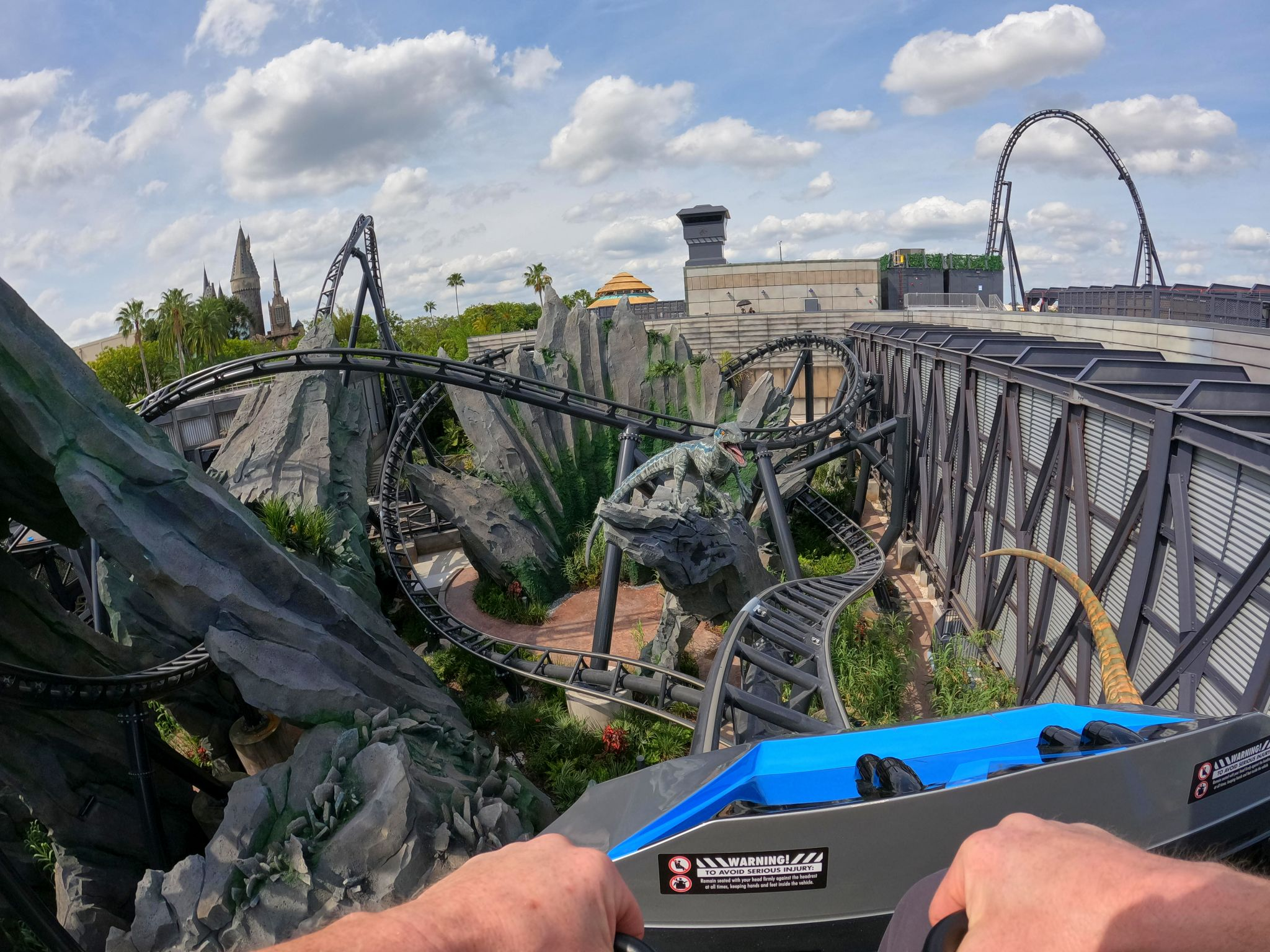 I rode America's scariest roller coaster. Here's what it was like.
