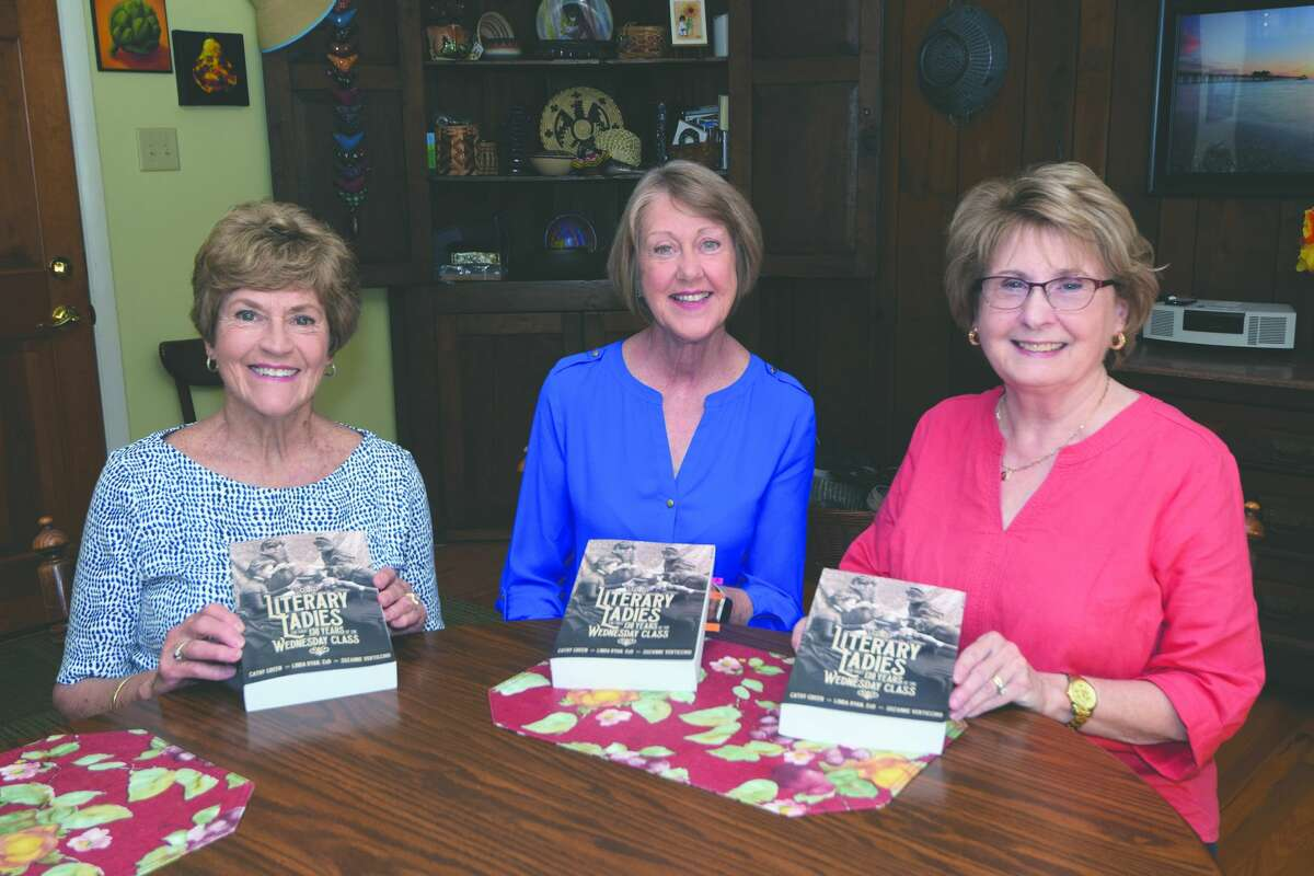 """The authors of """"Literary Ladies"""" - Cathy Green, Suzanne Verticchio and Linda Ryan."""