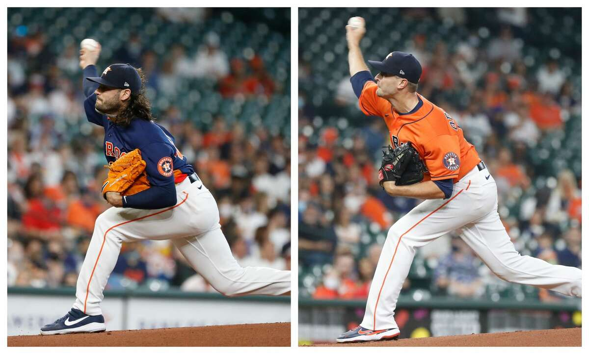 The Astros will activate Lance McCullers Jr. from the injured list to start Tuesday's series opener against the Rangers, but plan to piggyback him with Jake Odorizzi.