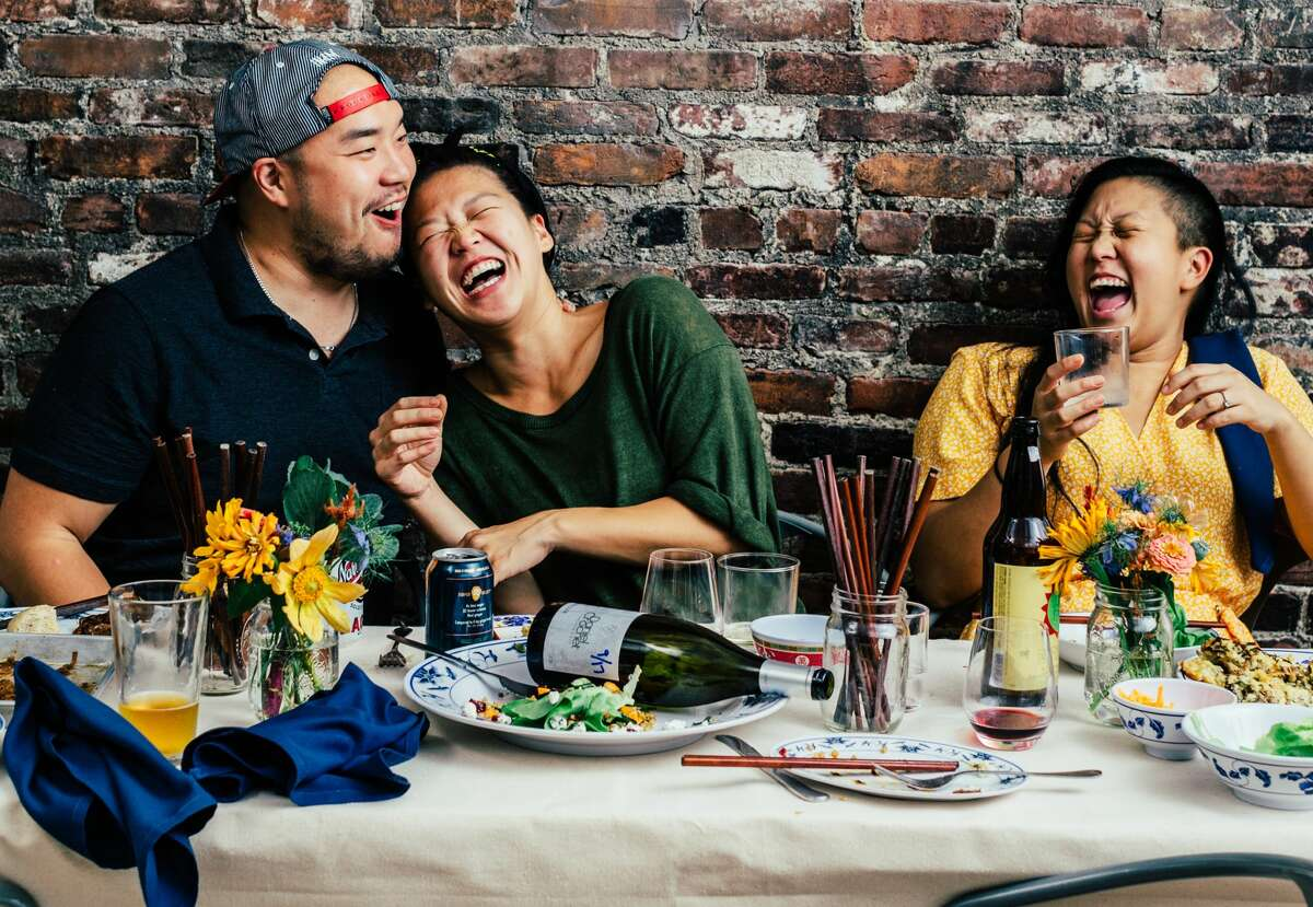 Chef Irene Li, right, talks about the difference between cultural appreciation and appropriation and how white chefs can use their power to work towards racial equity on the Extra Spicy podcast.