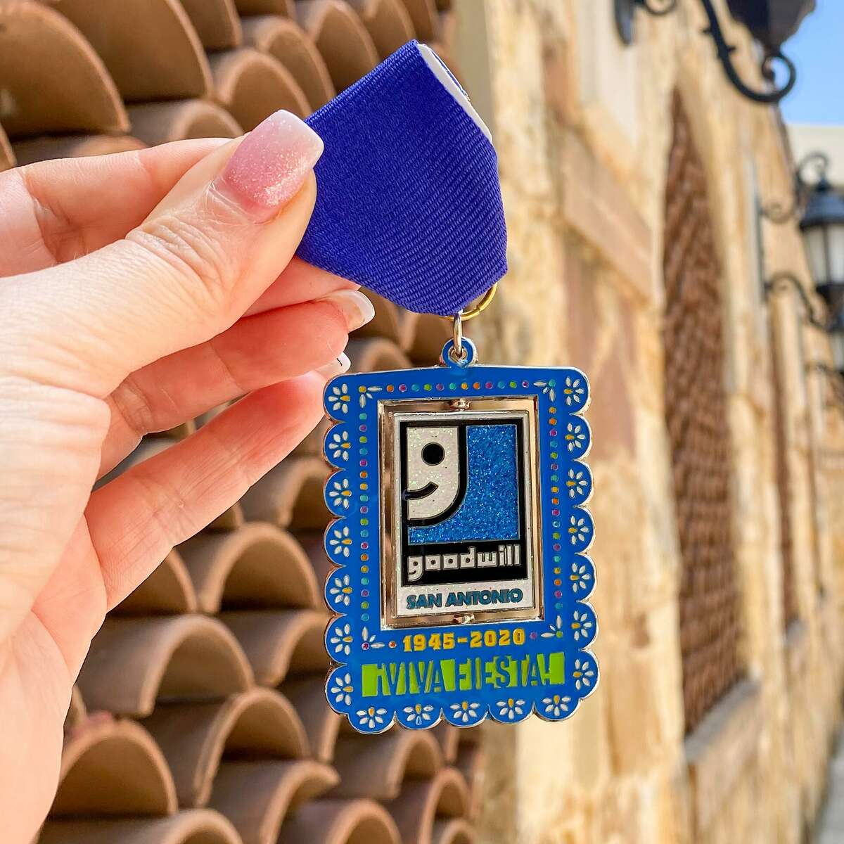 Goodwill San Antonio is offering Goodwill Fiesta medals to people who donate to the San Antonio Food Bank or visit select Goodwill locations to learn about their career and training programs.