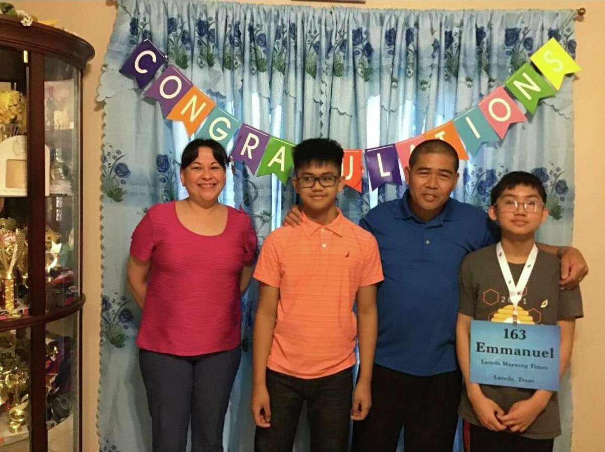 Lamar Bruni Vergara Middle School eighth garder Emmanuel Rimocal won Saturday to advance to the Scripps National Spelling Bee quarterfinals.