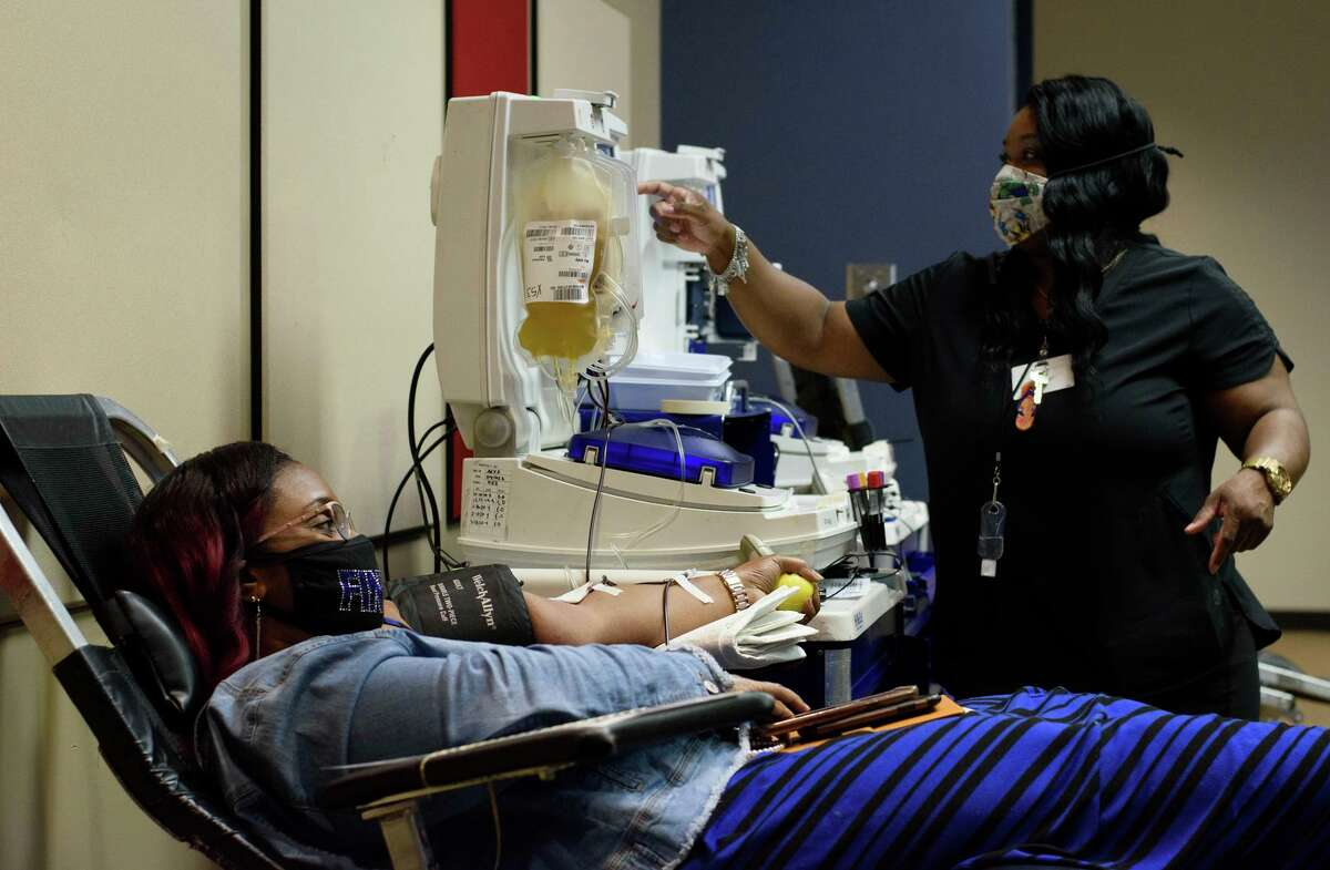 As cities reopen, the process of donating blood can feel like a trip to the spa after more than a year of social distancing.