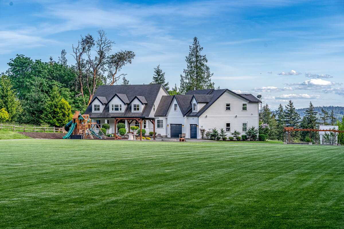 The setting in Gig Harbor's Cromwell neighborhood is as serene as it gets.