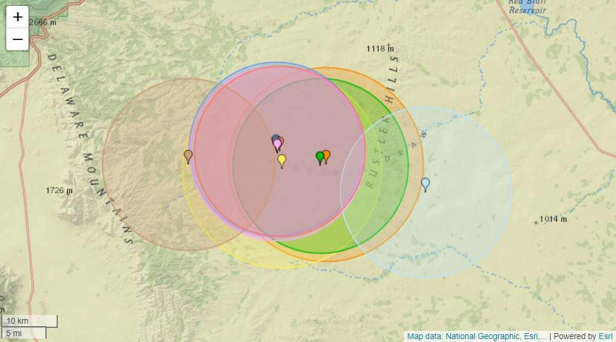 EarthquakeTrack.com reports 10 tremors since 3 a.m. Wednesday that part of the region, 145 in the last 30 days and around 590 in the past 365 days.