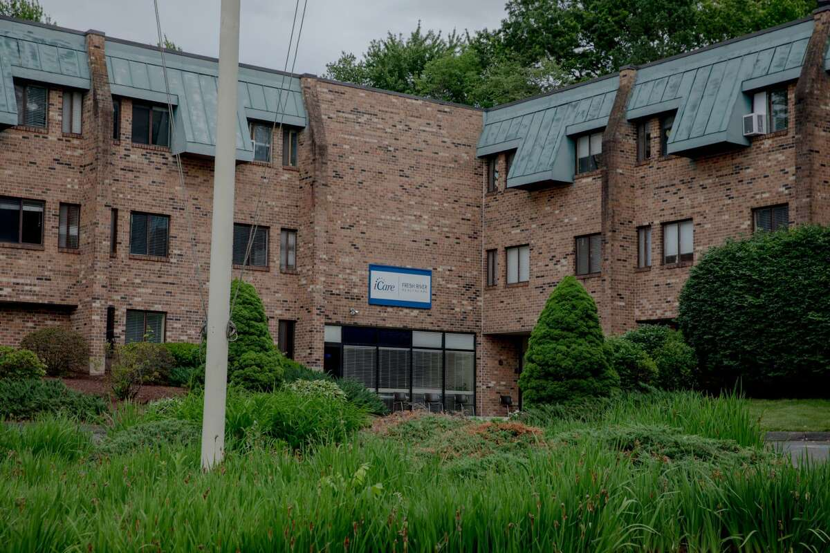The Fresh River Healthcare nursing home in East Windsor. Miguel Lopez, suspected of a sex assault at the facility, was a registered sex offender in Massachusetts who had a warrant out for his arrest.