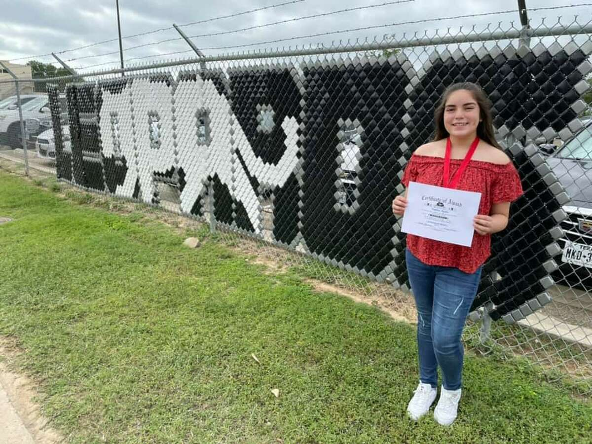 United South's Sophia Ayala traveled to the DFW area for a leadership academy to improve her socio-leadership skills.