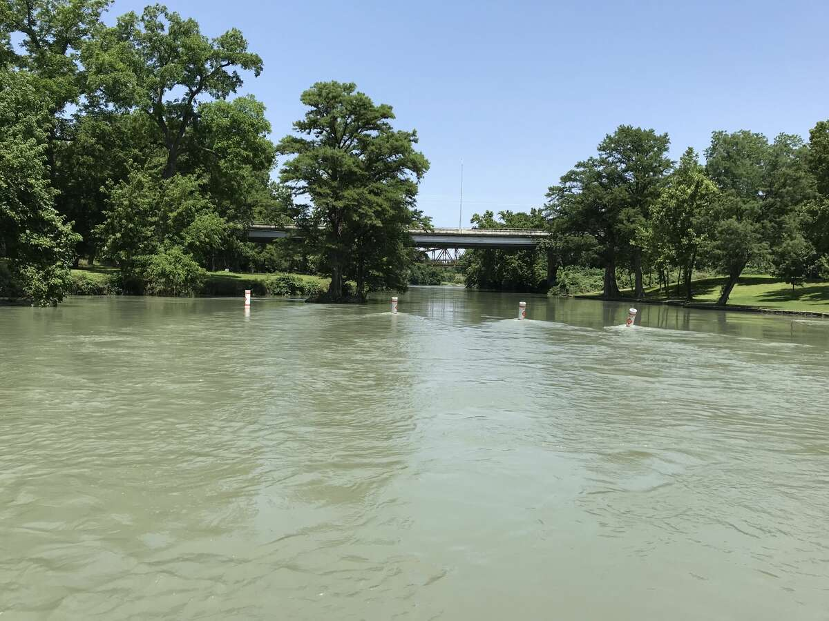 Officials have found the body of one of two people who went missing in the Guadalupe River after saving two children from drowning Sunday evening, according to multiple media reports. This is a file photo.