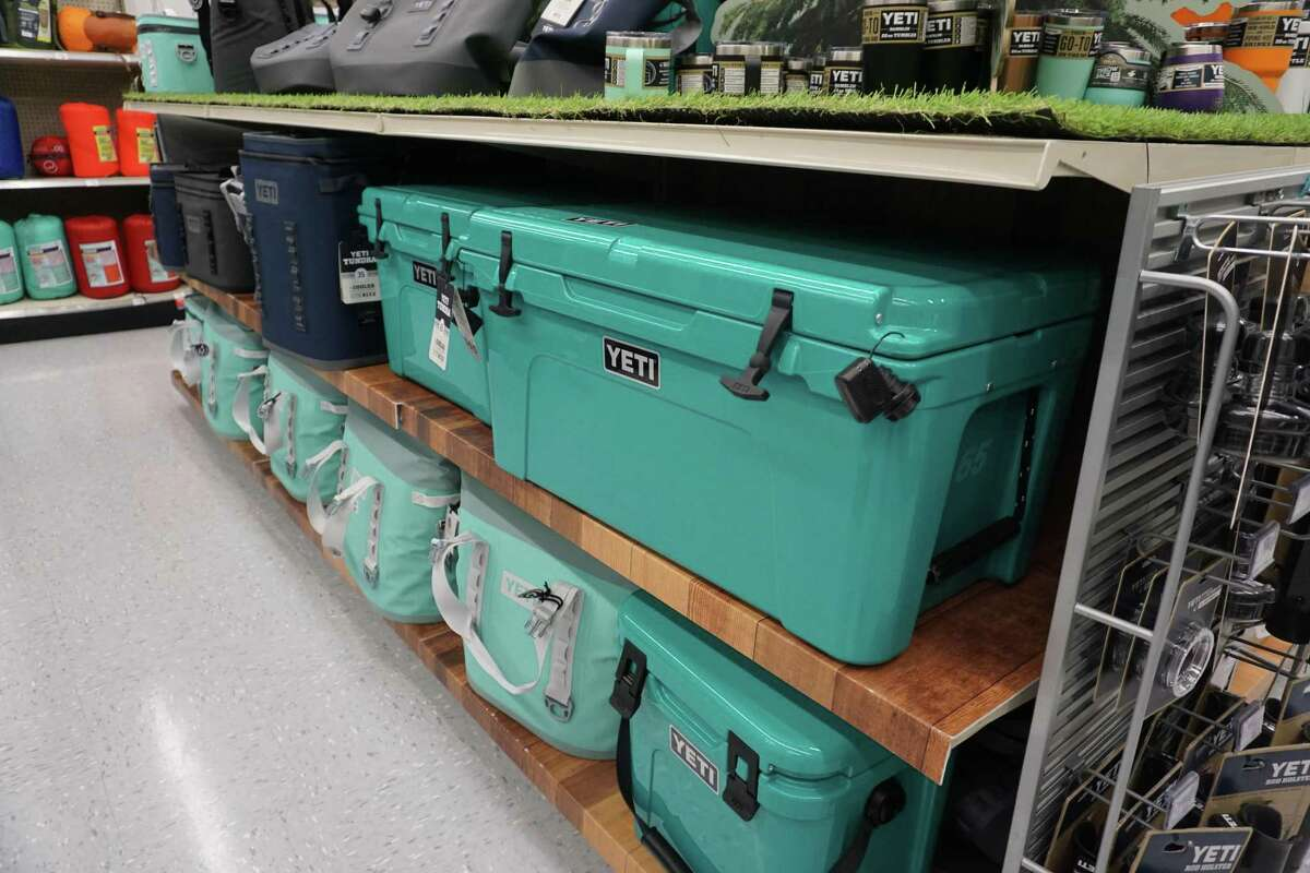 Well-insulated coolers like these from YETI can help keep food cold longer during a disaster like a hurricane.