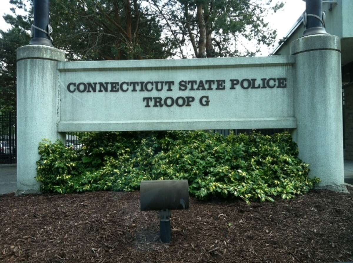 Connecticut State Police Troop G in Bridgeport.