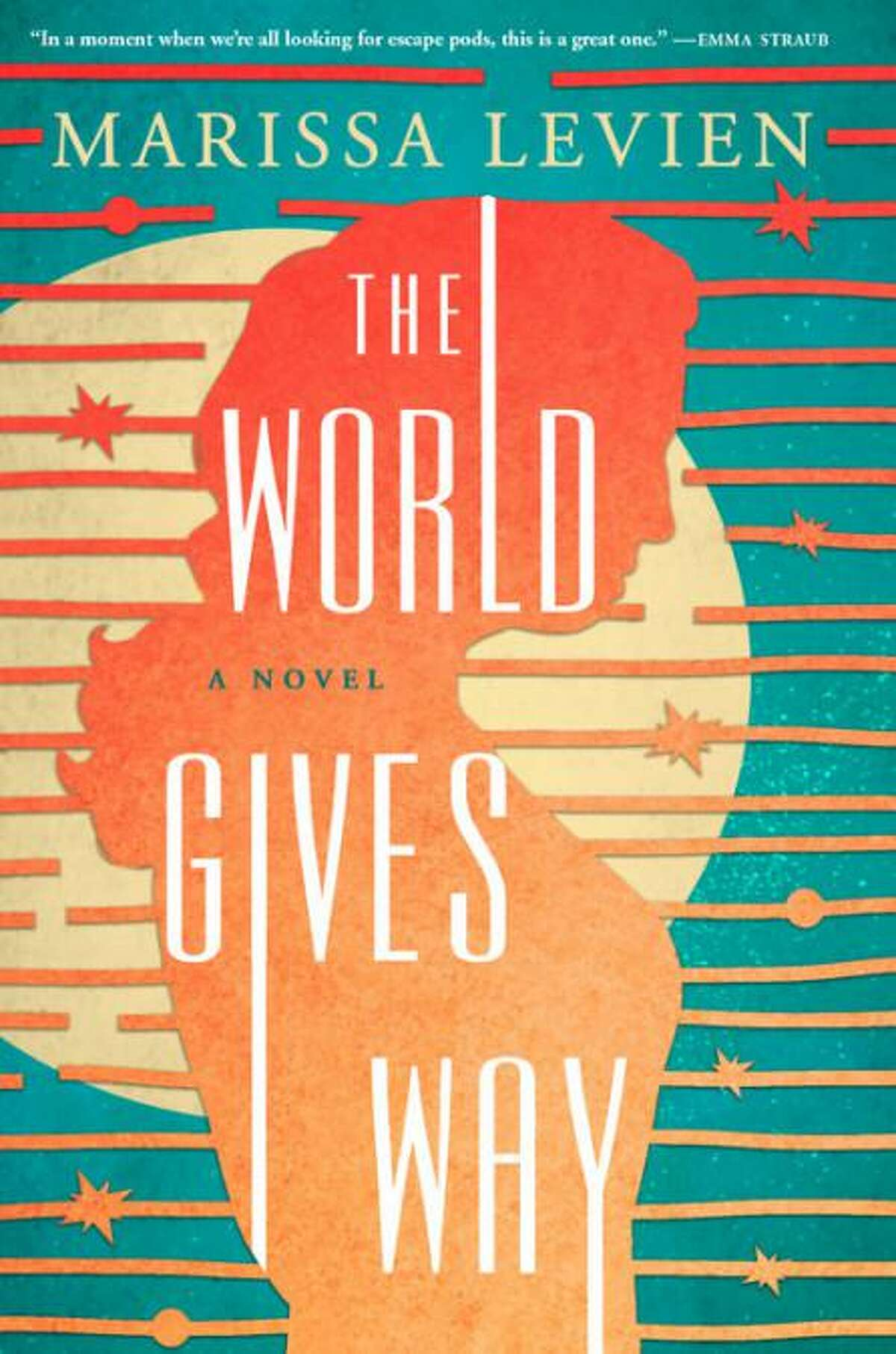 """""""The World Gives Way"""" by Marissa Levien."""