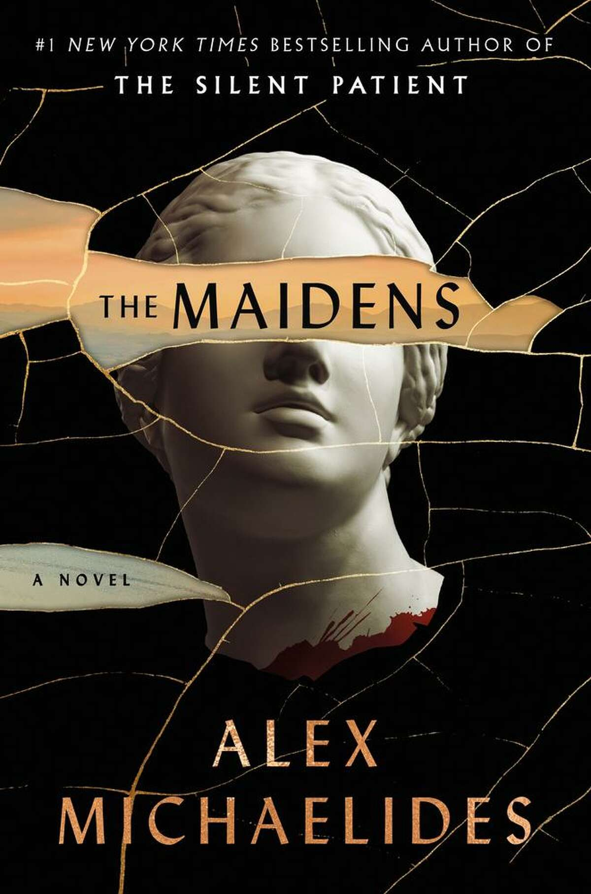 """""""The Maidens"""" by Alex Michaelides."""