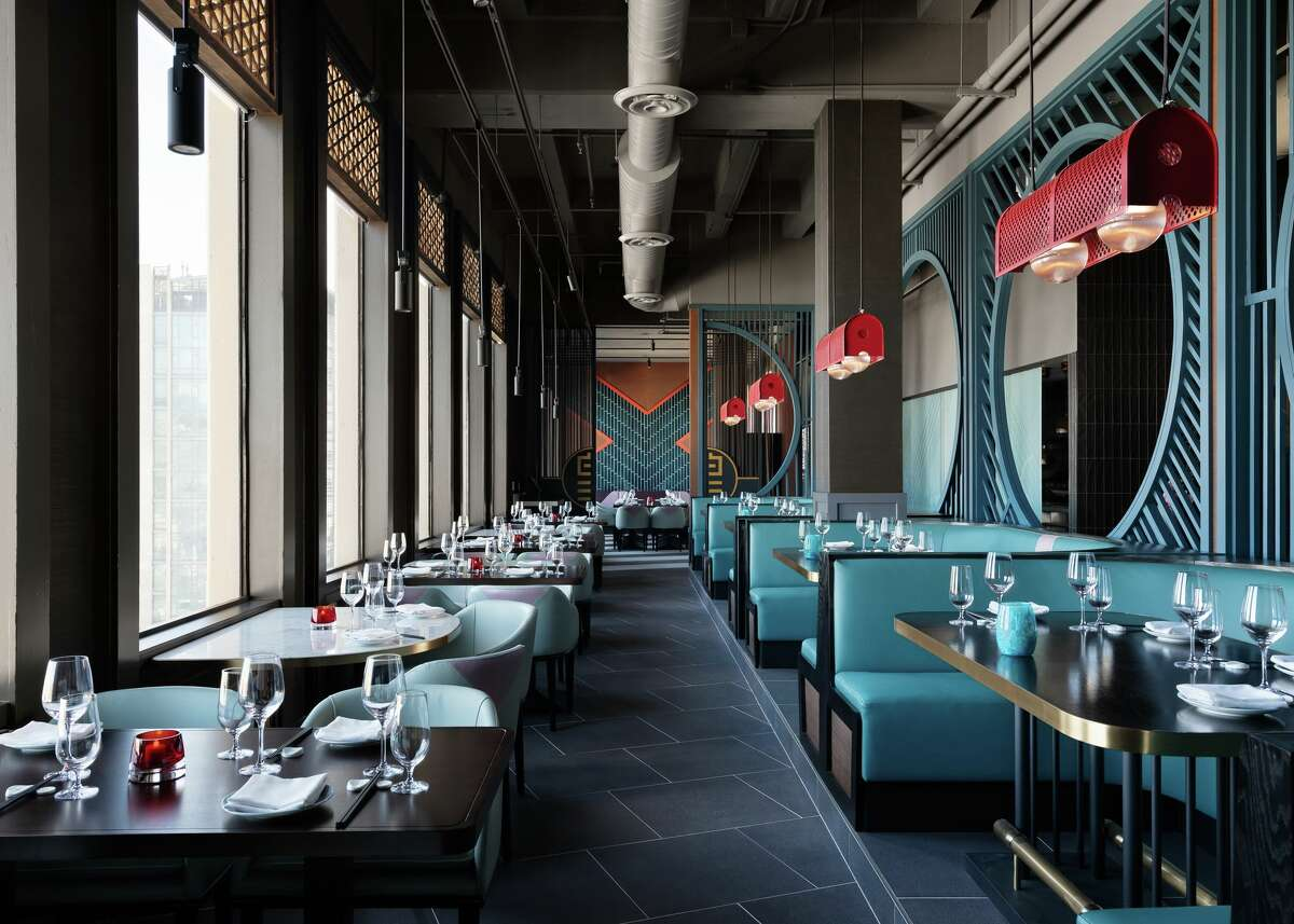 The interior of Empress by Boon. The restaurant opens June 18 and takes up the former space of Empress of China in San Francisco.