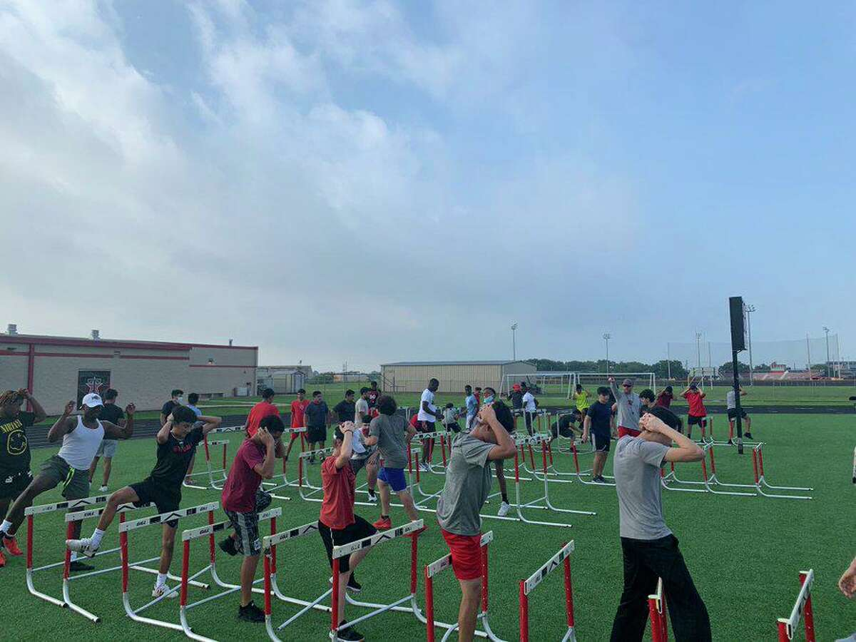 Terry High School football began its summer strength and conditioning camp last week, its first with Darnell Jackson as head coach.