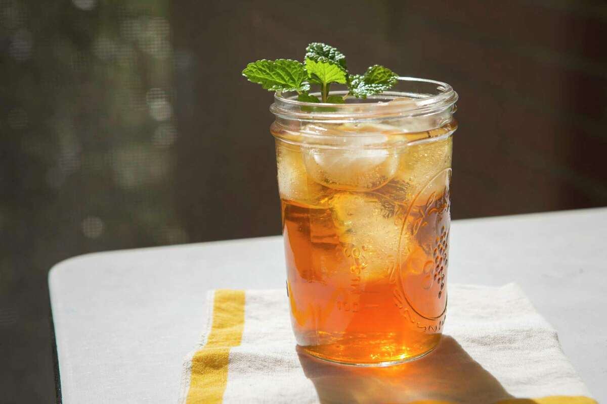 Slowly cooling hot-steeped tea will extract the most flavor from your tea bags when making iced tea.