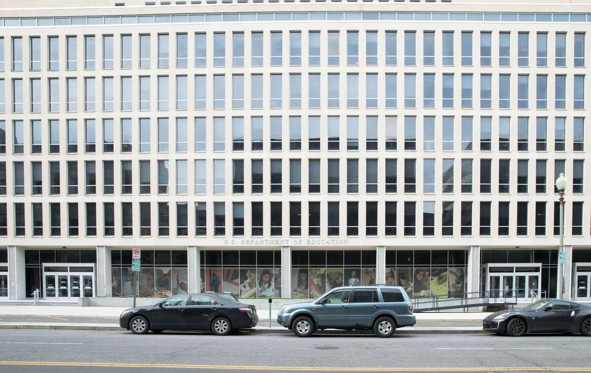 Washington DC April 1 2018: United States Department of Education in Washington, DC, It is a Cabinet-level department of the US government.