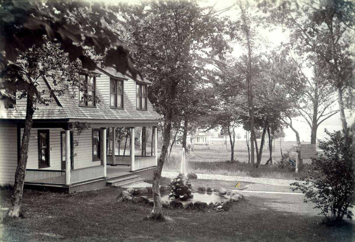 This photo shows a view of Red Park circa 1905.