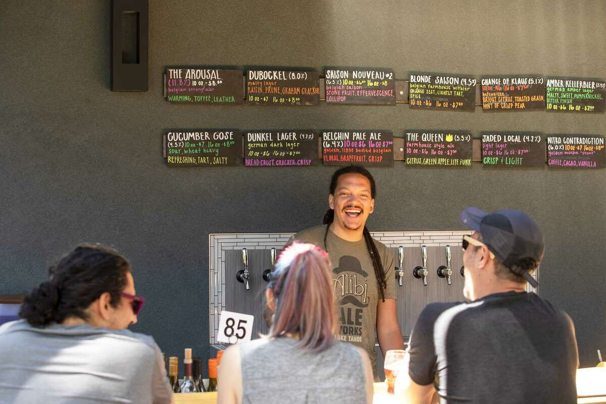 Alibi Ale Works in Lake Tahoe wants you to stop looking at your phone and make friends with your neighbors.