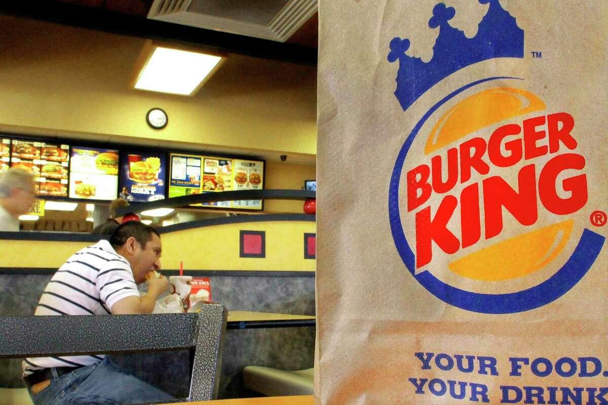 Patrons at a Burger King in Springfield, Ill.
