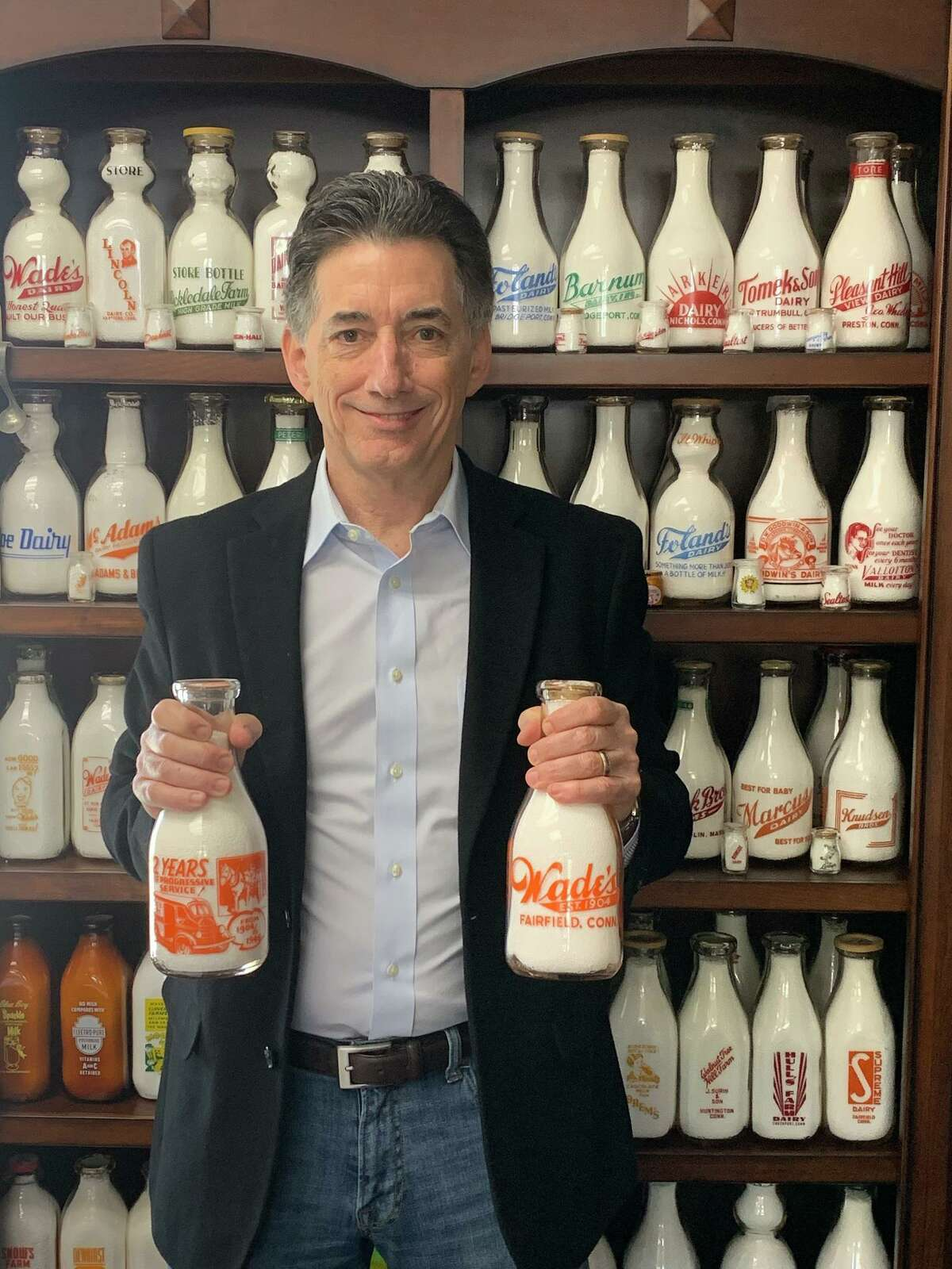 Doug Wade is the president of Wade's Dairy, Inc., and a recent addition to the Housatonic Community College Foundation board.