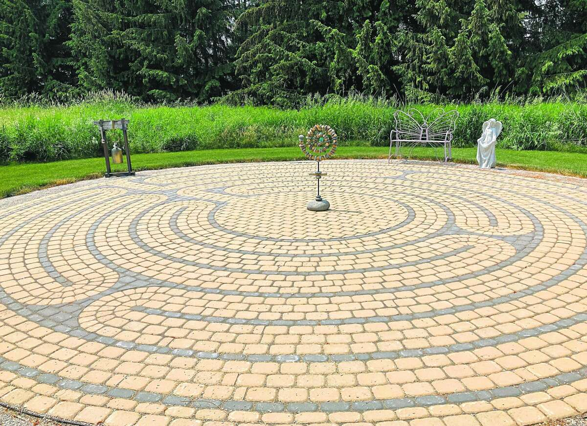 The Willow Labyrinth in Port Austin on June 10.