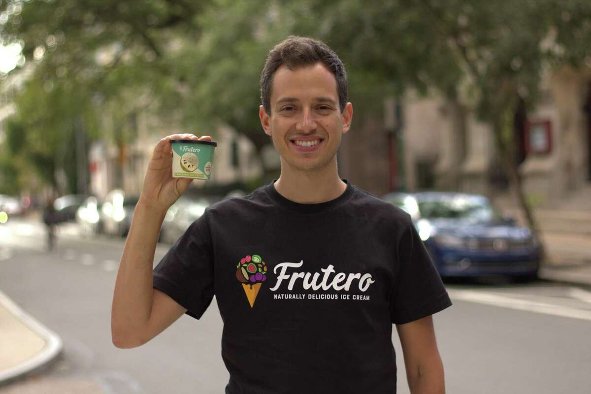 Mike Weber, a Stamford native, co-founded Frutero, an ice cream company.