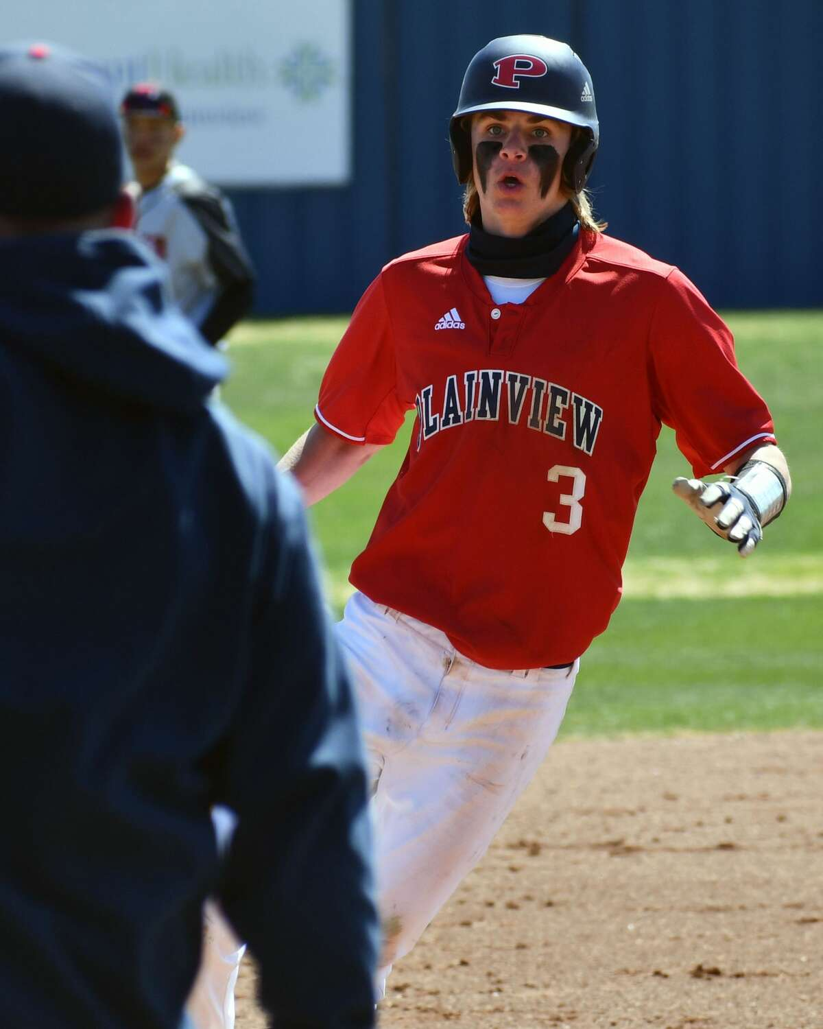 Plainview outfielder Caleb Lusk was named second team All-State in Class 5A.