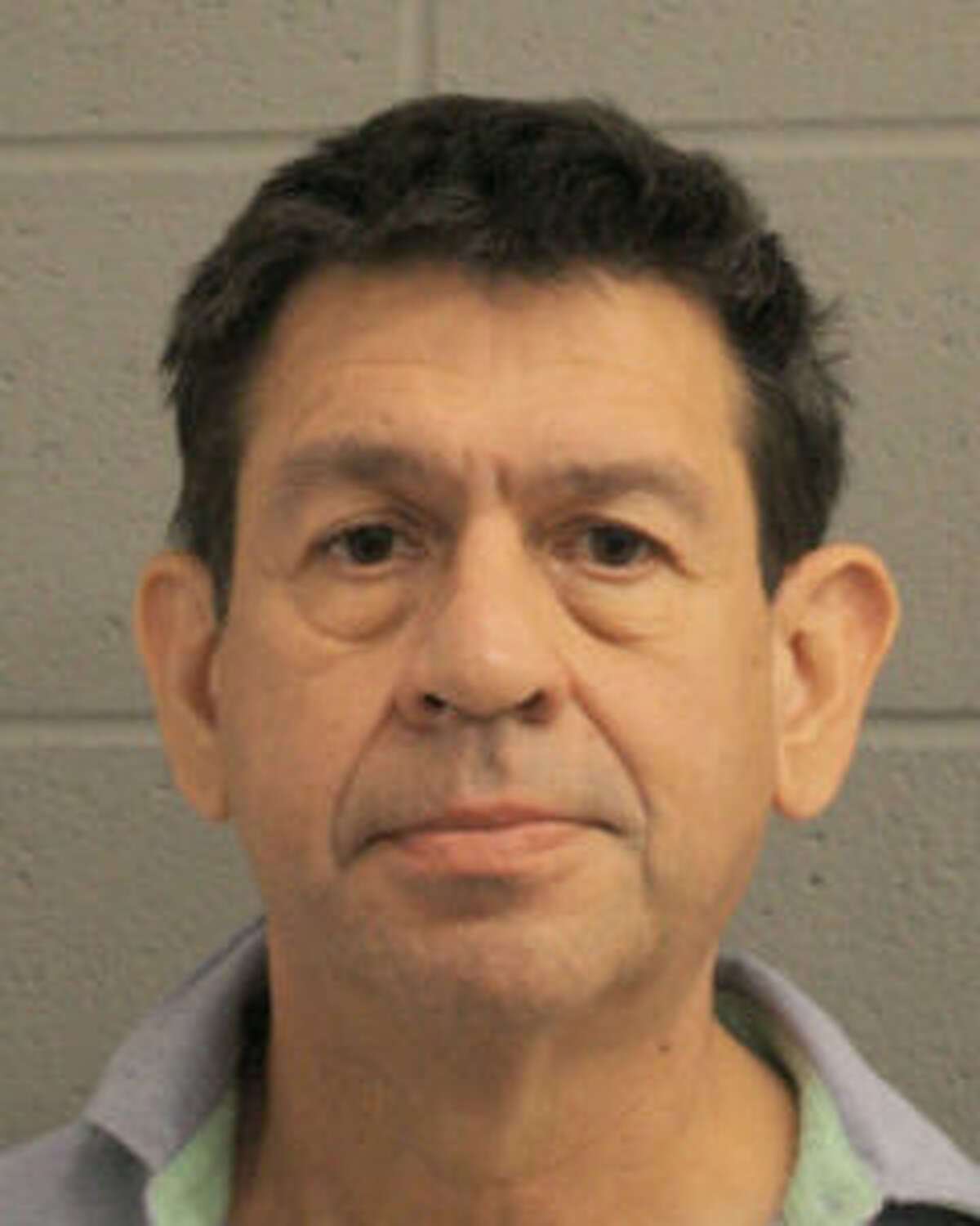 Hector Ricardo Laines, 62,was charged with intoxication manslaughter for a crash that killed a 60-year-old woman riding in his car on Sunday in north Houston, according to police.